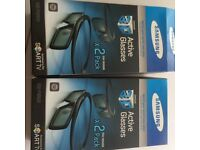 Samsung 3D active glasses x4