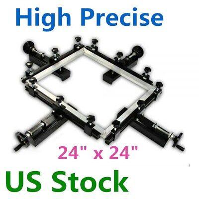 Us-24 X 24 Stretcher Manual Silk Screen Stretching Machine High Precise