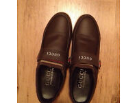 Gucci shoes brown size 7/8