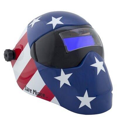 New Save Phace Efp-i Series Welding Helmet - Patriot - 180 49-13 Adf Lens