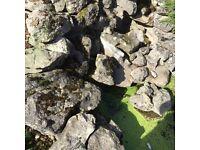 Decorative rock for rockeries, ponds, walls. Free