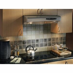 30in Range Hood Vent - Stainless Steel - Model: Nutone Allure