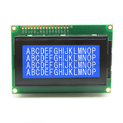 1604 16x4 Character Lcd Display Module Blue Backlight For Arduino 5v
