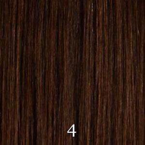 """CLIP-IN REAL HUMAN-HAIR EXTENSIONS (BROWN, 18"""")"""