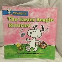 Peanuts the Easter Beagle returns book