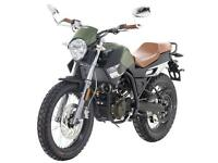 UM SCRAMBLER CLASSIC 125 - CLASSIC RETRO MOTORCYCLE - LEANER LEGAL