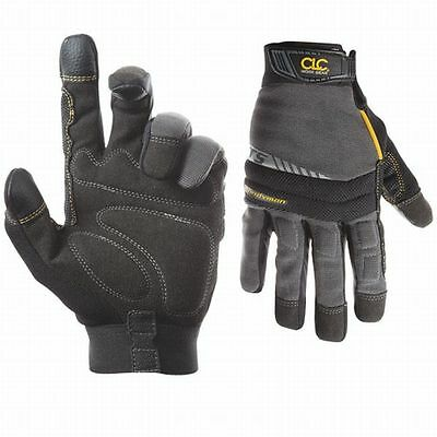 Work Gloves Custom Leather Craft Handyman Flexgrip Xlarge 20031