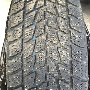 4 Toyo studless tires with steal rims