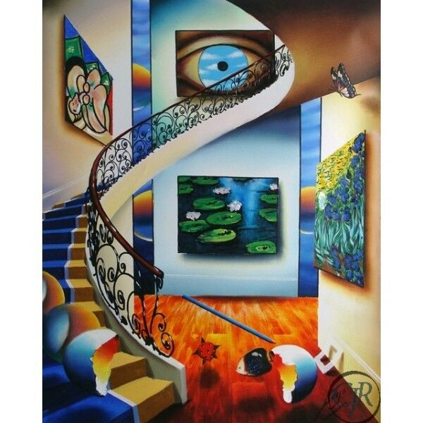 Ferjo Eye of a Master S/N Giclee on Canvas