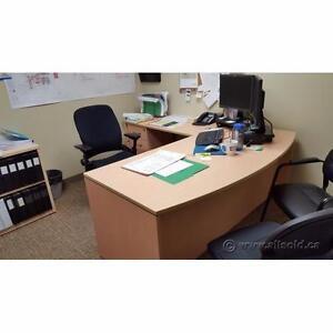 Assortment of Quality L-Suite Office Desks $325-$550