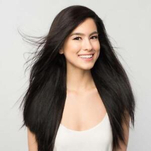 """20"""" LUXY HAIR CLIP-IN EXTENSIONS FOR SALE / OFF BLACK #1B / 220G"""