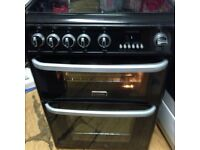 £90 CANNON 60 CM WIDE DOUBLE OVEN GAS COOKER