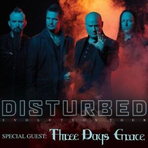 DISTURBED & Three Days Grace Toronto Front Row Tickets March 4