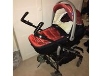 Full baby pack. Cot bed pram buggy isofix seats etc