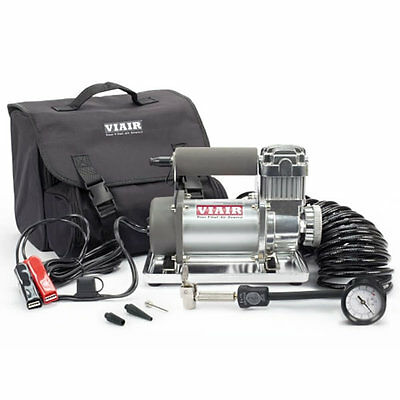 "VIAIR 300P 12-Volt 150-PSI Portable Air Compressor Kit Up To 33"" Tires"