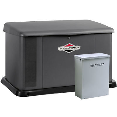 Briggs Stratton 20kw Standby Generator System 100a Service Disconnect Ac...