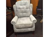 Green arm chair free delivery