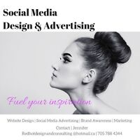 Social Media Advertising & Design
