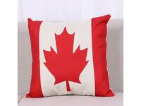 New Canada Flag Pillow Cover , free post or collect