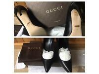 Genuine GUCCI heels with receipt!⭐️