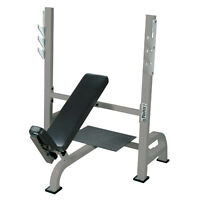 Liquidation 10 York incline bench commercial + rack for bench pr