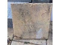 450x450mm riven paving slabs good quality