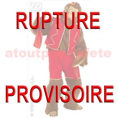 Acrobat Kostüme (Kostüm Affe Acrobat Stofftier,Feier)