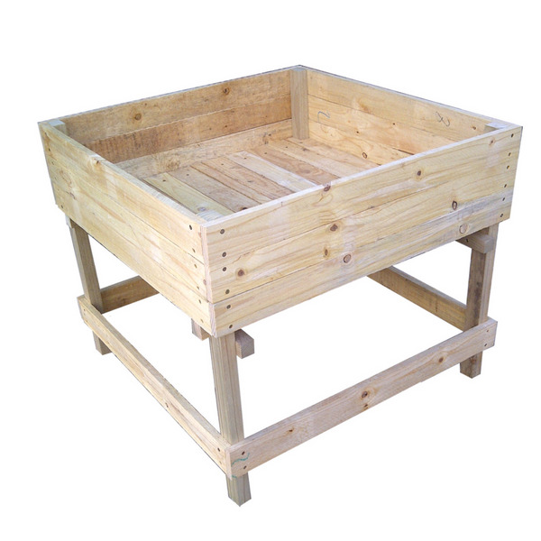 Large and Sturdy Raised Bed Planters from GardenStuff