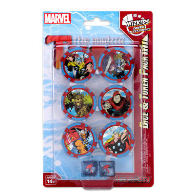 WizKids Games HeroClix - The Mighty Thor - Dice & Token Pack