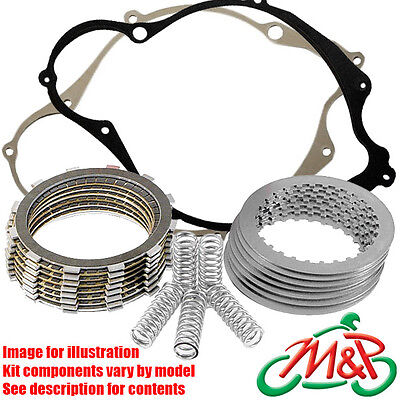 Kawasaki GPZ 500 S EX500DE 1999 Clutch Replace/Repair Kit Friction Plates