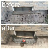 WET BASEMENT?  Repairs starting as low as $200.00