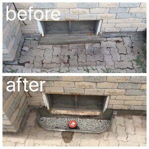 WET BASEMENT?  Repairs starting as low as $200.00 Cambridge Kitchener Area image 1