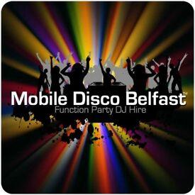 Hire a DJ - Mobile Disco Belfast - Party Entertainment