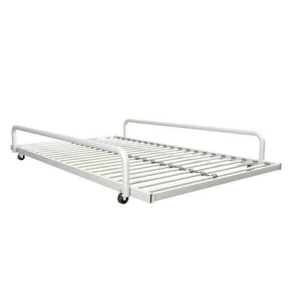 DHP Separate Trundle for DHP Metal Daybed Frame White