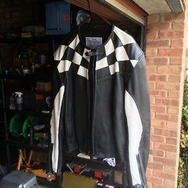 Mens Triumph Motorcycle Jacket