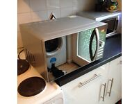 Microwave/oven/grill (£20)