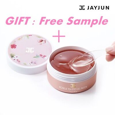 [JAY JUN]ROSELLE TEA Eye Gel Patch Whitening Anti Wrinkle Moisture 60ea Freeship