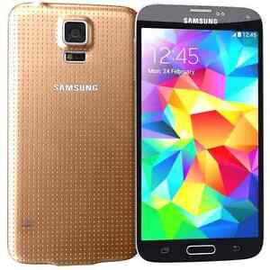 NEW DEAL!GOLD SAMSUNG GALAXY S5