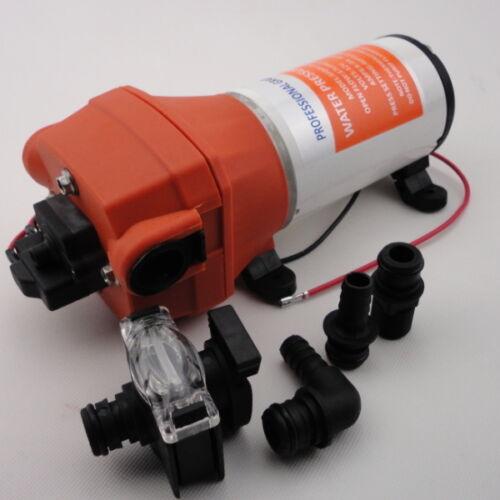 Seaflo High Pressure Water Diaphrgam Pump 12 V DC 40 PSI 4.5 GPM For Marine RV++