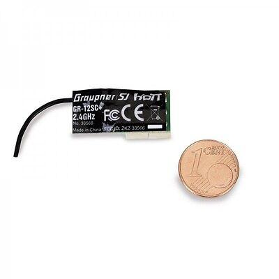 Graupner 33566 Empfänger GR-12SC+ HoTT 2.4 GHz 6 Kanal