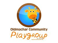 Oldmachar Playgroup require an Early Years Practitioner. Part time which may lead to full time.