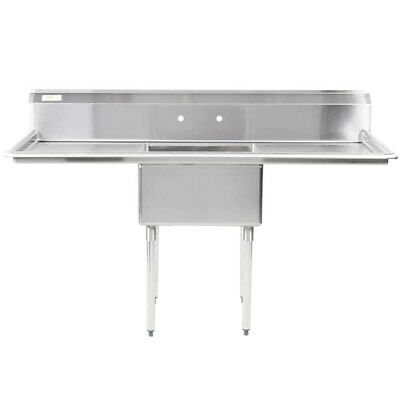 71 Stainless Steel One Compartment Commercial Nsf Restaurant Kitchen Sink