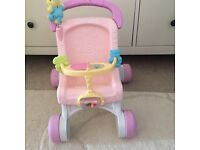 Fisher price push along buggy