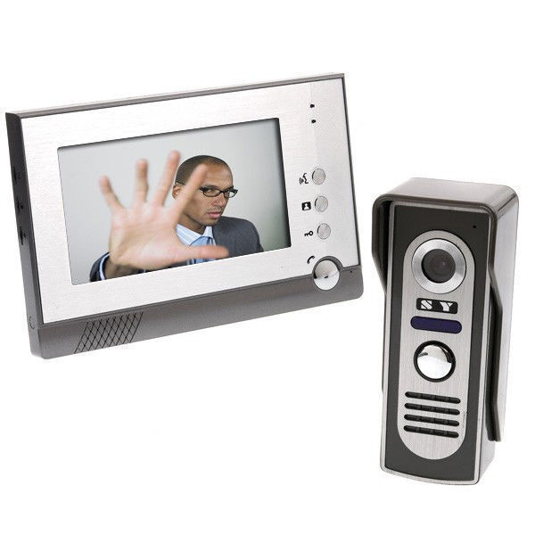 Tomtop 7-inch Video Doorbell Intercom Kit