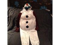 Kids Olaf costume age 5-6