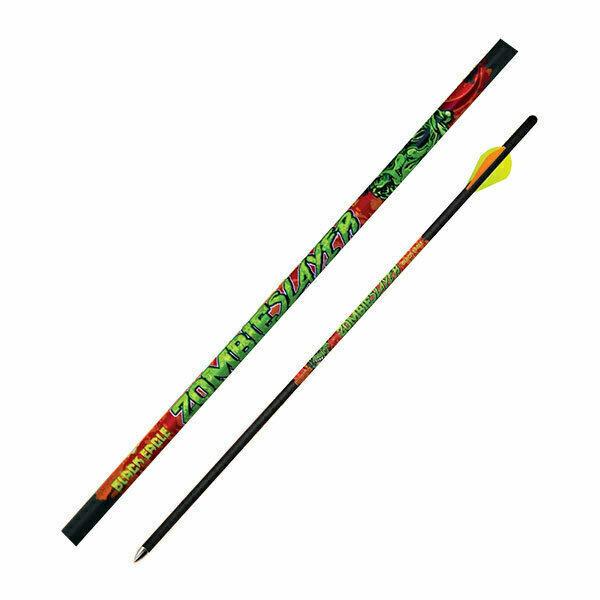 "Black Eagle - Zombie Slayer - Crossbow Fletched Arrows - .001"" 6 Pk - 20"""