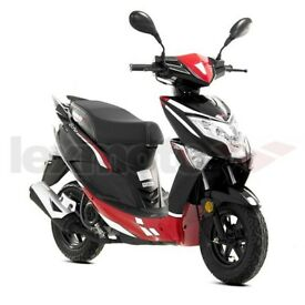 new lexmoto echo 50 scooter black/red horfield bristol