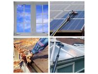 Window, gutter, solar panel, conservatory cleaner