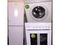 Fridge freezer,washing machine & cooker