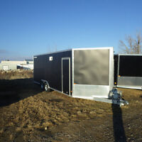 New Polaris 4-place Enclosed heated Trailer!